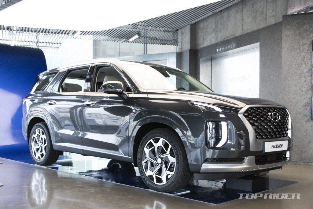 Rò rỉ ảnh nội thất xịn xò, sang chảnh của chiếc Hyundai Palisade VIP 2021