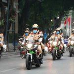 Hà Nội phát động ra quân năm ATGT 2021