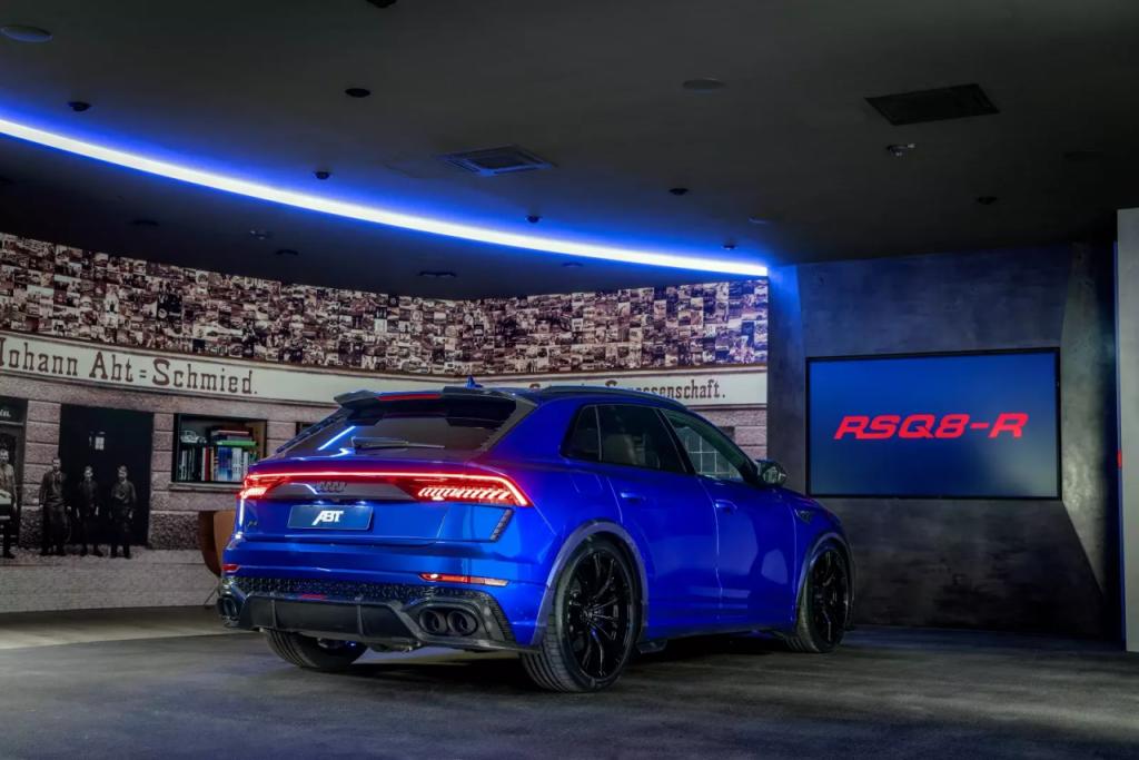 Chiêm ngưỡng bản độ Audi RSQ8-R 2021 ra mắt mạnh tới 730 mã lực