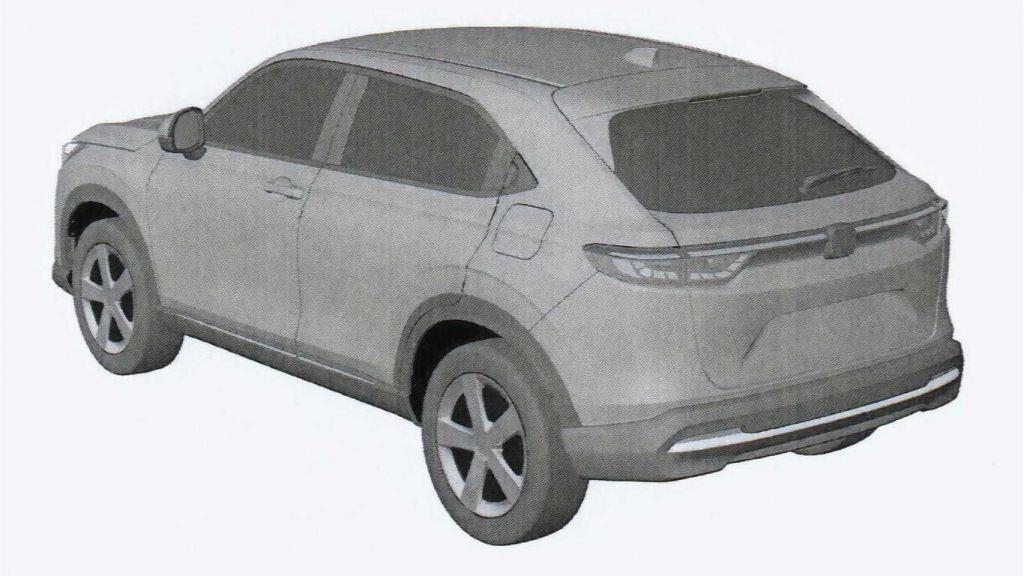 Rò rỉ thiết kế đặc biệt chiếc Honda HR-V 2022