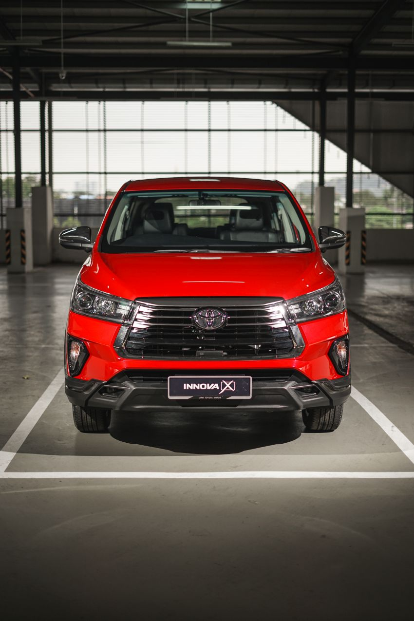 Vén màn chiếc Toyota Innova 2021 bản đắt nhất tại thị trường Malaysia