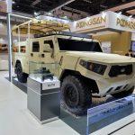 Kia giới thiệu xe quân sự, sẵn sàng lên đường tham chiến