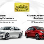 Honda Accord và City giành 4 giải lớn tại ASEAN NCAP GPA 2020
