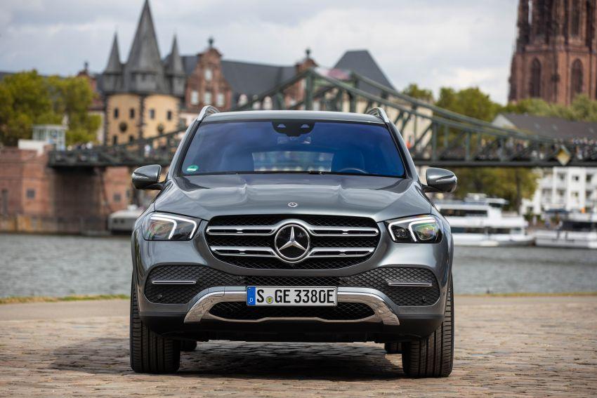 Mercedes-Benz GLE 350 de 4Matic V167 vừa xuất hiện tại Thái Lan