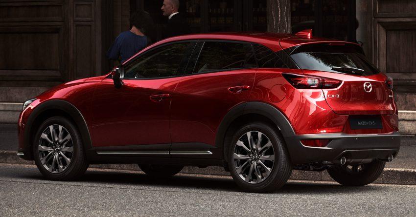 Khám phá mẫu Mazda CX-3 2021 vừa được giới thiệu tại Malaysia
