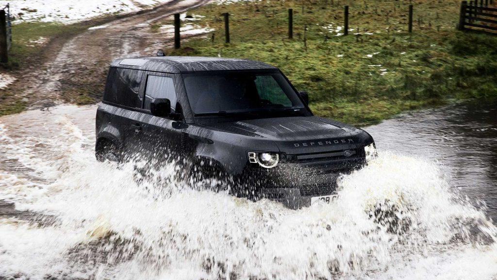 Land Rover Defender V8 2022 động cơ nâng cấp mang sức mạnh cực đỉnh