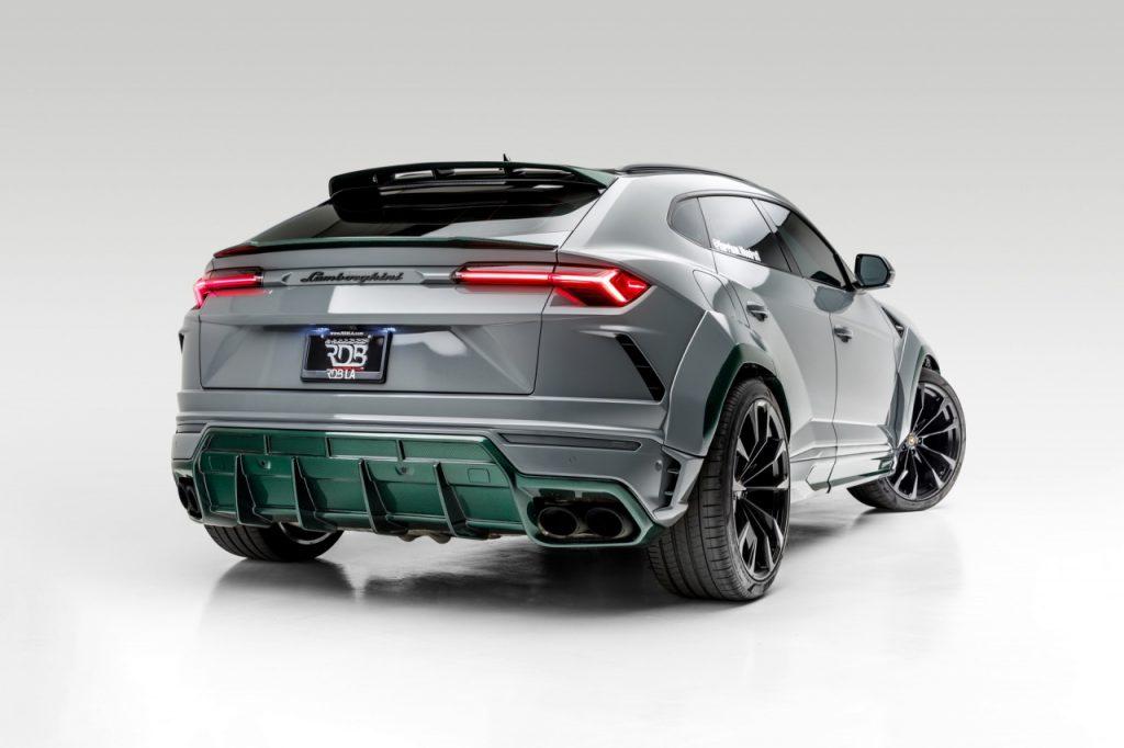 Lamborghini Urus với gói độ carbon màu xanh thú vị mạnh tới 800 mã lực