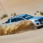 Ford Ranger thử nghiệm tại sa mạc nóng nhất hành tinh