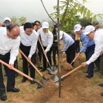 Toyota Việt Nam đồng hành cùng Bộ TN và MT trong Lễ phát động Tết trồng cây 2021