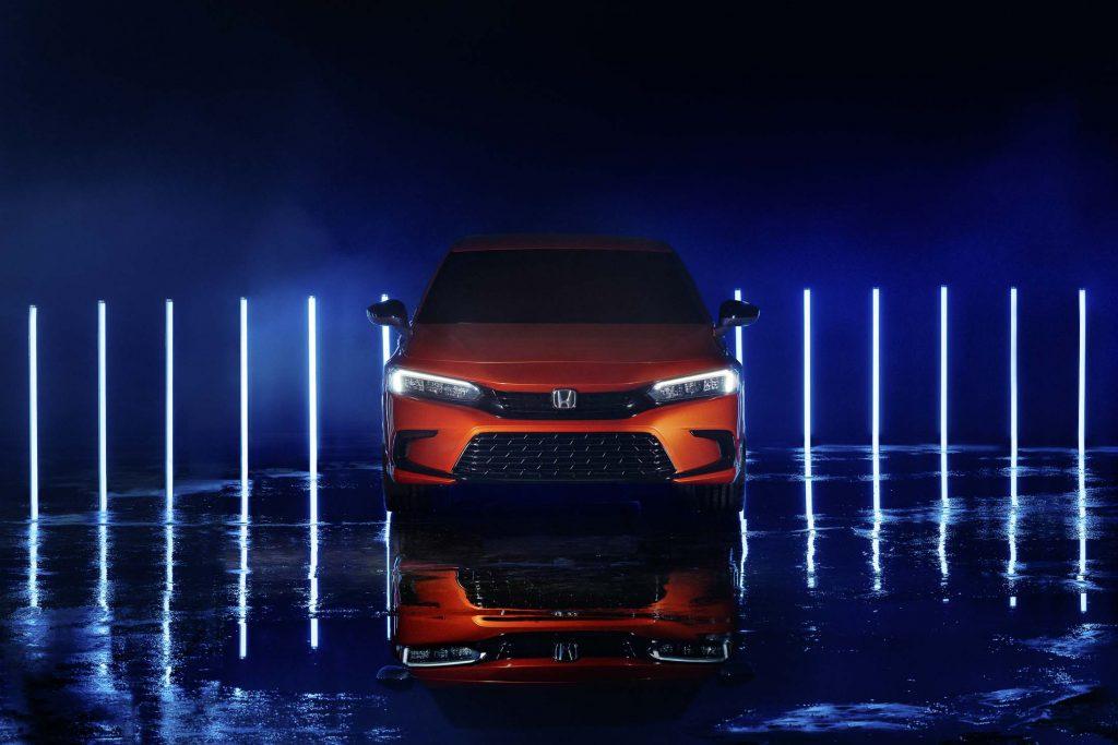Honda Civic 2022 sẽ mang cấu trúc thân xe công nghệ mới bảo vệ người lái khi va chạm
