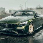 Mercedes-AMG S63 Convertible lột xác dũng mảnh qua gói độ của Brabus và Fostla