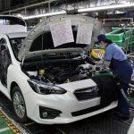 Subaru tạm ngừng sản xuất vì thiếu chip