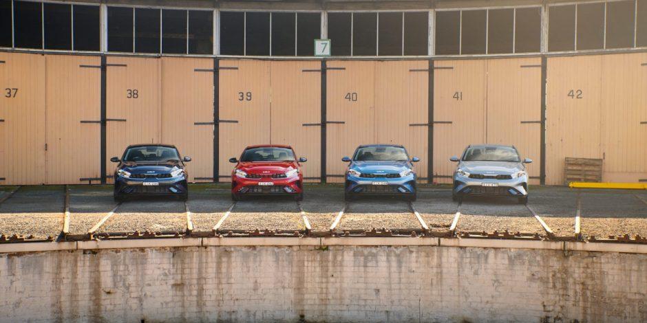 Kia Cerato có 4 phiên bản tuỳ chọn tại Úc