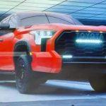Bán tải Toyota Tundra 2022 lộ ảnh trước ngày ra mắt