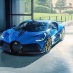 Chiếc Bugatti Divo cuối cùng xuất xưởng với màu xanh đặc biệt