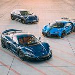 Bugatti chính thức về với hãng xe điện Croatia Rimac
