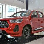 Chi tiết Toyota Hilux GR Sport 2021 vừa được trình làng tại Đông Nam Á