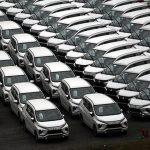 Số lượng ô tô đăng ký mới vượt con số 1.000 xe