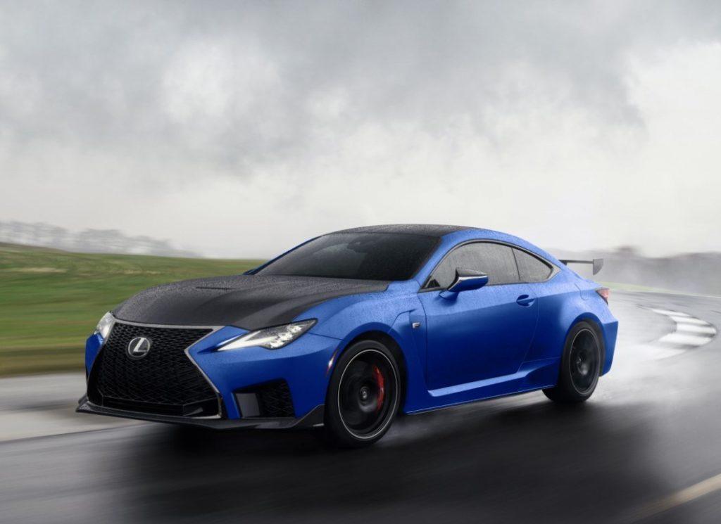Lexus trình làng bộ đôi xe hiệu suất cao RC F và RC F Fuji Speedway Edition 2022