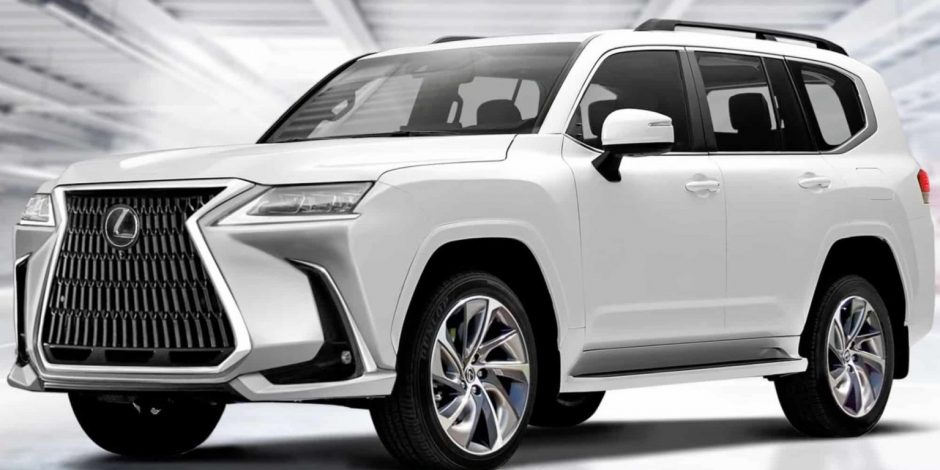 Lexus LX 2022.