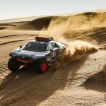 Audi thử nghiệm RS Q e-tron, chuẩn bị cho Dakar Rally mùa giải 2022