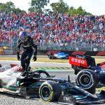 Halo cứu Lewis Hamilton khỏi tai nạn nguy hiểm ở Italian GP