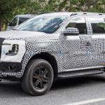 Lộ ảnh nội thất của Ford Everest thế hệ tiếp theo