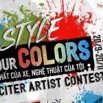 Yamaha Exciter mang nghệ thuật đường phố đến với các nghệ sĩ trẻ Việt Nam