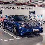 Porsche Studio Hà Nội trở lại hoạt động, mở trạm sạc cho các chủ xe Taycan